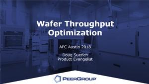 Throughput optimization slide