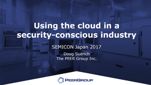 Security conscious industry