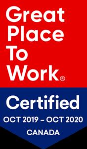 GPTW Certification 2020