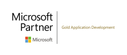 MS Partner Gold application development logo