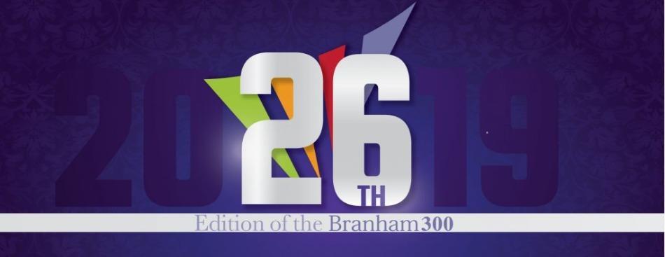 Branham300 26th Edition logo
