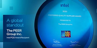 PEER Group's 6th Intel PQS award image thumbnail