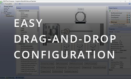 Easy drag-and-drop configuration